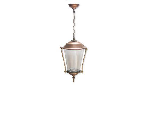 Bronzen hanglamp - 353